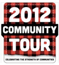 2012 Community Tour